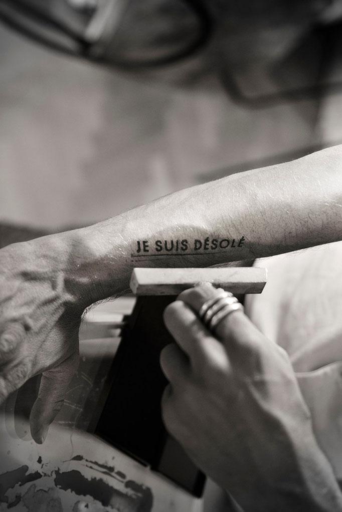 "Projet ""POÏESIS"" d'Anthony Bannwart - Photo © Nathalie Pallud"