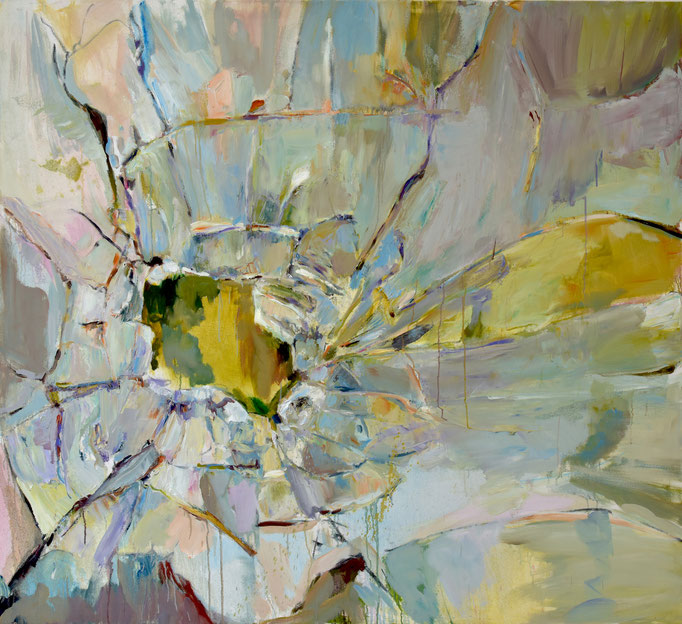 Glass 1 2019, oil on canvas 155 x 170 cm | Photo: Klaus Michalek
