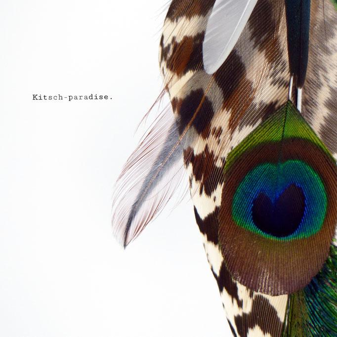 kitsch-paradise, plumes de paon