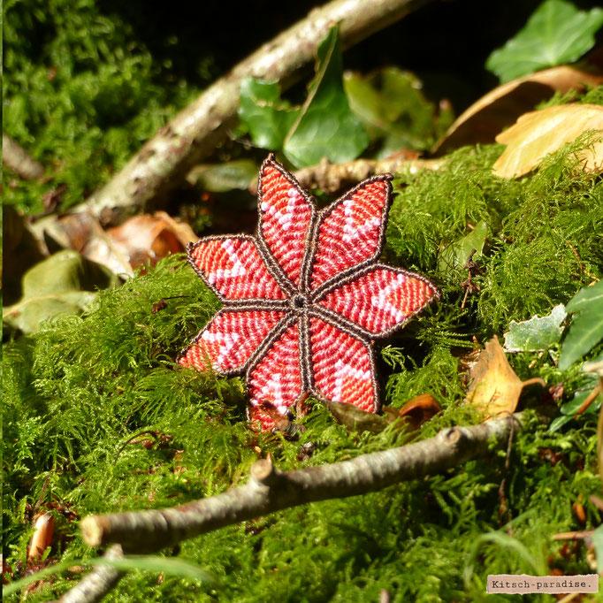 kitsch-paradise Barrette fleur 7 pétales