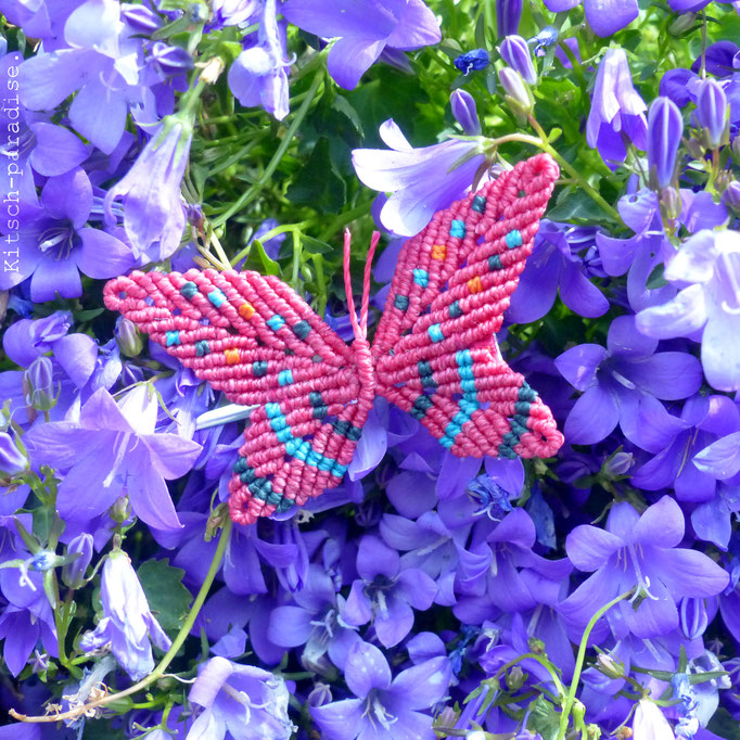 kitsch-paradise, barrette papillon