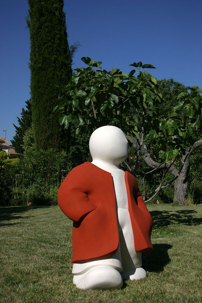 """Barnabé, la Balade"" - sculpture en béton - 120x80x60 cm"