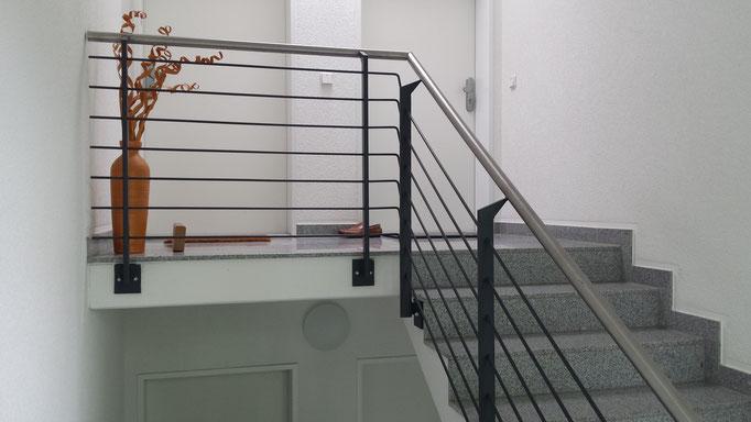 Treppenbau Stahltreppe Treppe Geländer Geländerbau Anlagenbau Stahlbau Metallbau