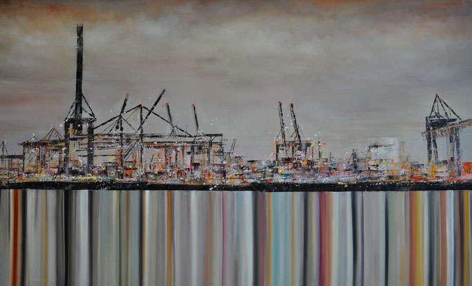 Midnight, 300 cm x 180 cm, Öl auf Leinwand, 2012
