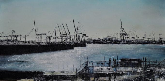 Amphore, 180 cm x 130 cm, Öl auf Leinwand, 2011