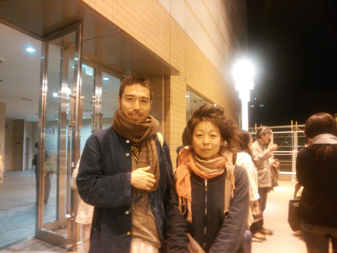 滝沢泰平さんと一緒に仙台で