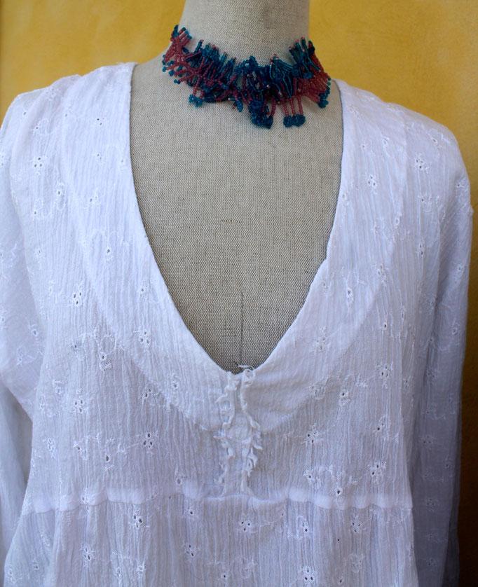 blouse en coton
