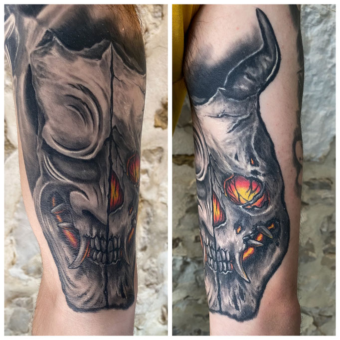Keus, Frappe Chirurgicale Tattoo, Auxerre, tatouage tattoo