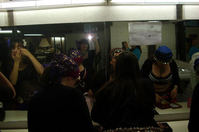 Backstage con las Apsaras