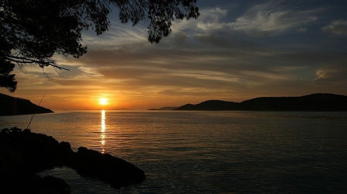 Kroatien, Sunset