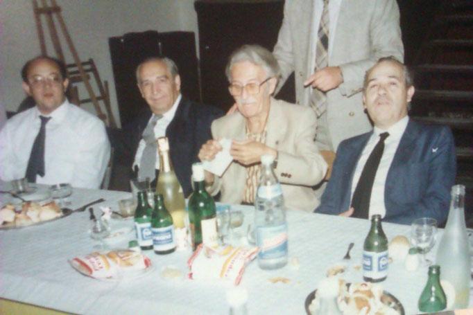 Con Don Jose Roca, Don Manuel Massotti y el Padre Climent