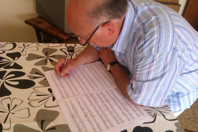Componiendo en el Perelló