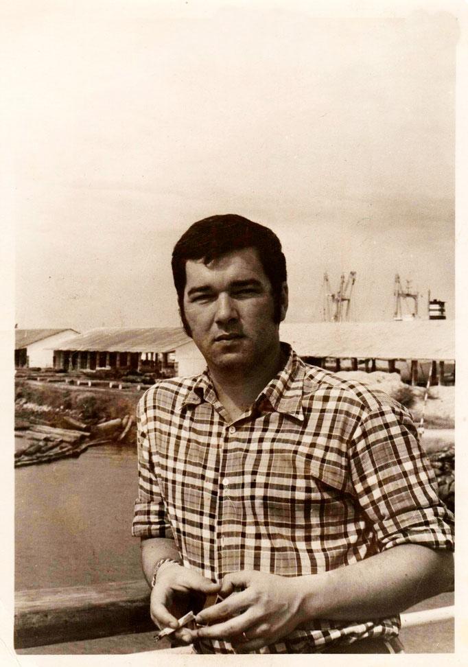Сергей Игоревич Яснопольский. Порт Лас-Пальмас, на пути в Антарктиду 1979 г