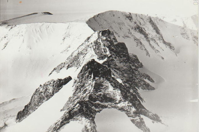 Горы Пенсакола, Антарктида. Съёмки во время научных исследований с борта самолёта.