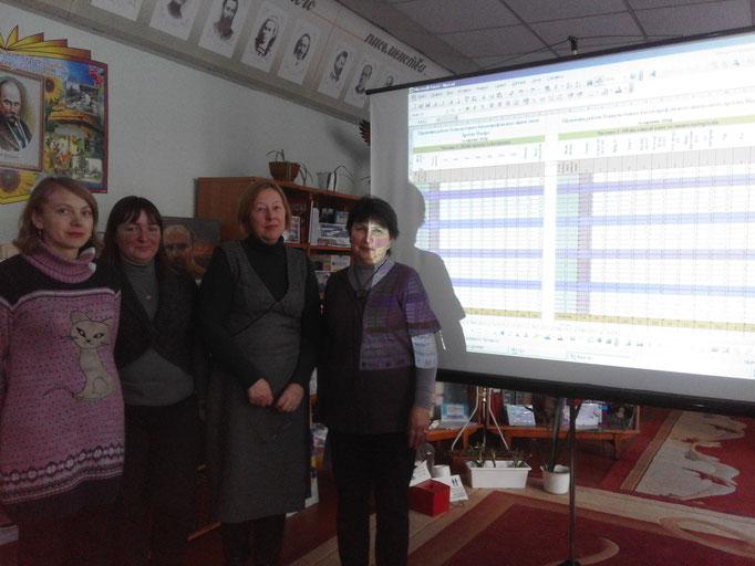 """26.01.2017 Відбулося заідання творчої групи """"Школа комп'ютерної грамотності"""".Усі учасники групи плідно попрацювали."""