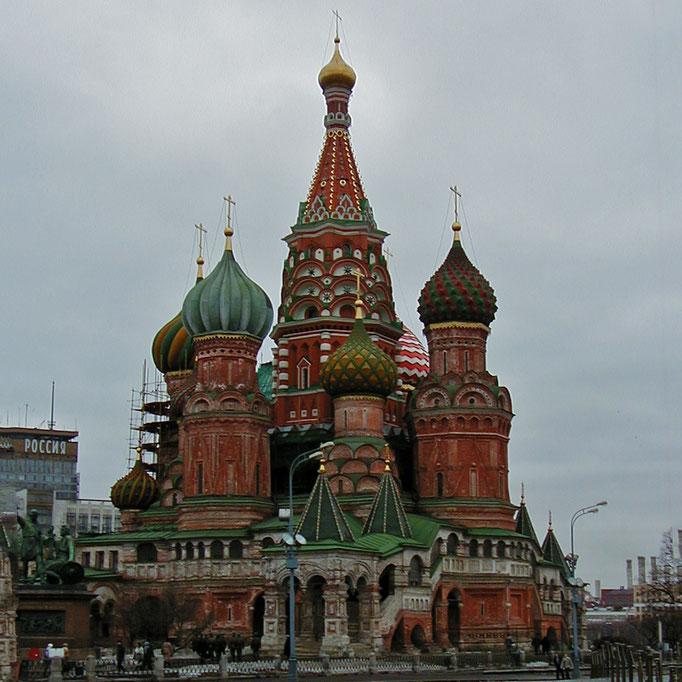 Moscou St Pétersbourg