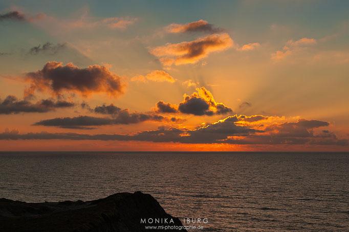 .... von dem ich diesen Sonnenuntergang erleben durfte