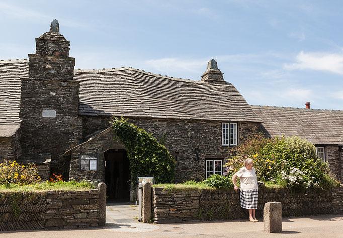 Die alte Poststation in Tintagel - ein Herrenhaus aus dem 14. Jahrhundert