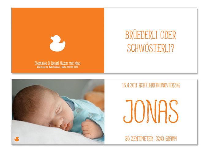 Jonas: 4-seitig, gefalzt 148×105 mm, offen 296×105 mm   Foto: © Bettina Berrut