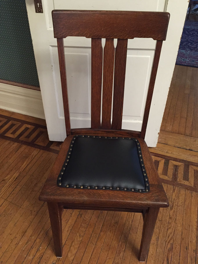 chairs restored