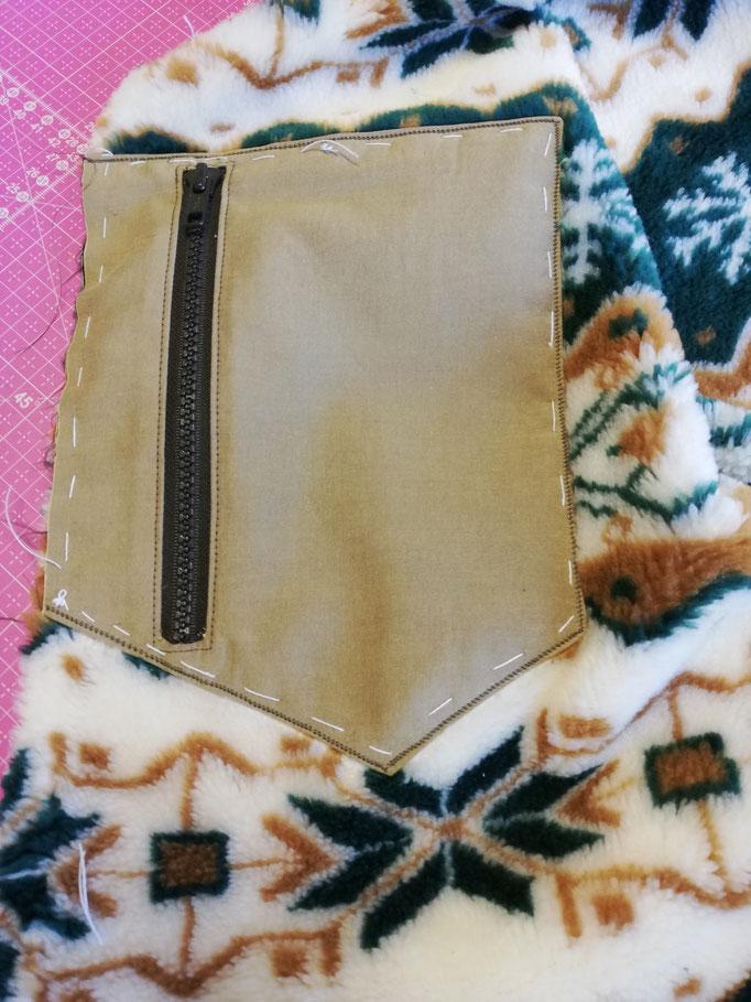 La poche avec fermoir