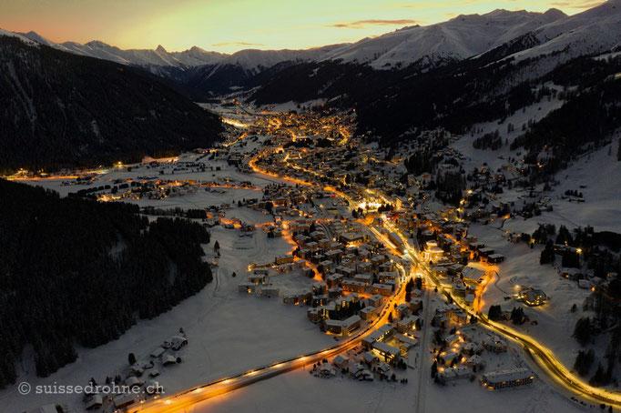 Davos mit Tinzenhorn