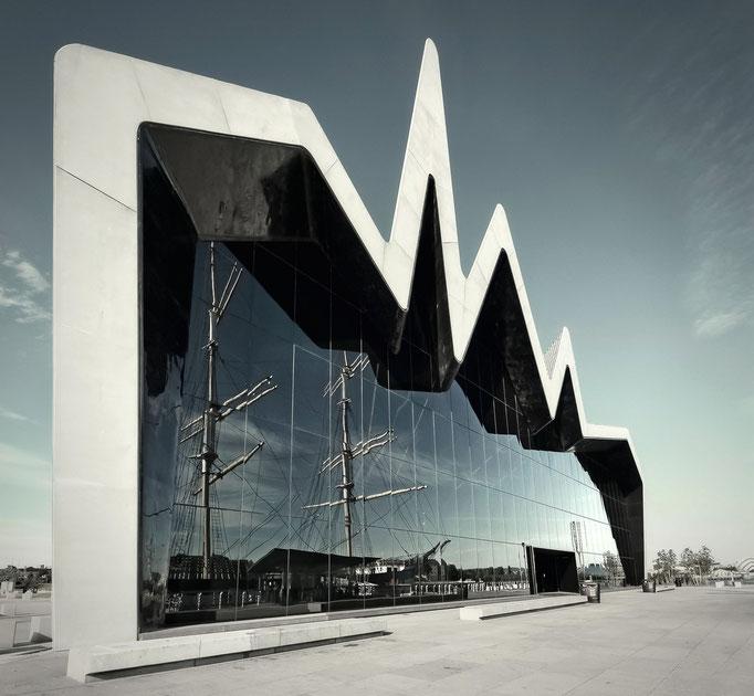 Glasgow - Riverside Museum (by Zaha Hadid)