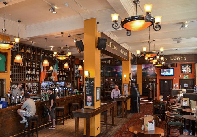 Glasgow - im Pub