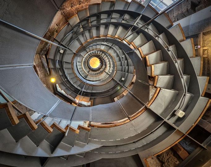 Glasgow - Treppe im Lighthouse, by Mackintosh