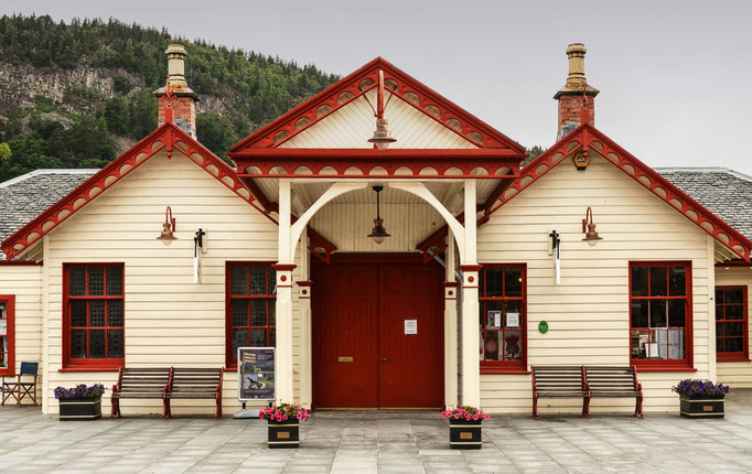 Queen Victoria's Train Station in Ballater