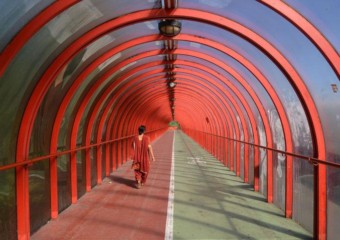 Glasgow - Überweg zum Exhibition Centre