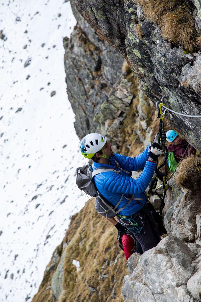 Berge im Licht: Ebike und Klettersteigtour auf die Saarbrücker Hütte und den Kleinlitzner - 14