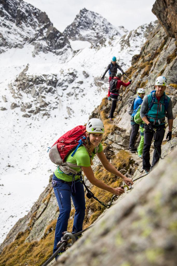 Berge im Licht: Ebike und Klettersteigtour auf die Saarbrücker Hütte und den Kleinlitzner - 10