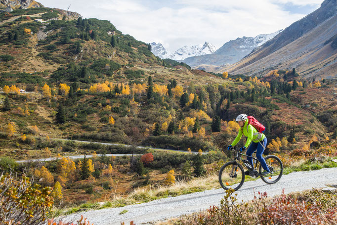 Berge im Licht: Ebike und Klettersteigtour auf die Saarbrücker Hütte und den Kleinlitzner - 22