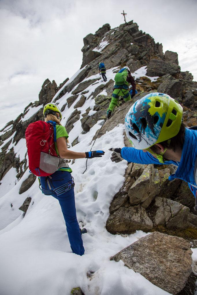 Berge im Licht: Ebike und Klettersteigtour auf die Saarbrücker Hütte und den Kleinlitzner - 15