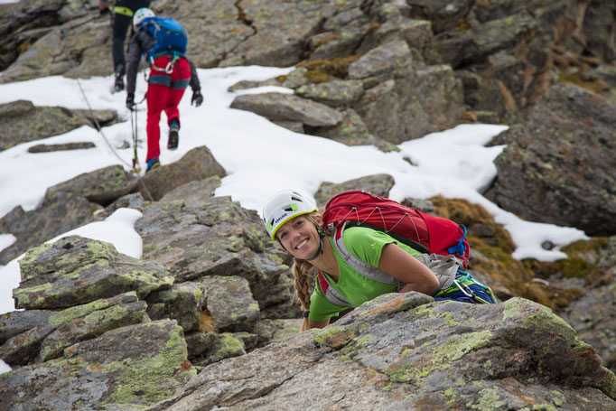 Berge im Licht: Ebike und Klettersteigtour auf die Saarbrücker Hütte und den Kleinlitzner - 16