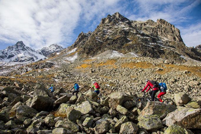 Berge im Licht: Ebike und Klettersteigtour auf die Saarbrücker Hütte und den Kleinlitzner - 4