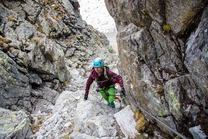 Berge im Licht: Ebike und Klettersteigtour auf die Saarbrücker Hütte und den Kleinlitzner - 11