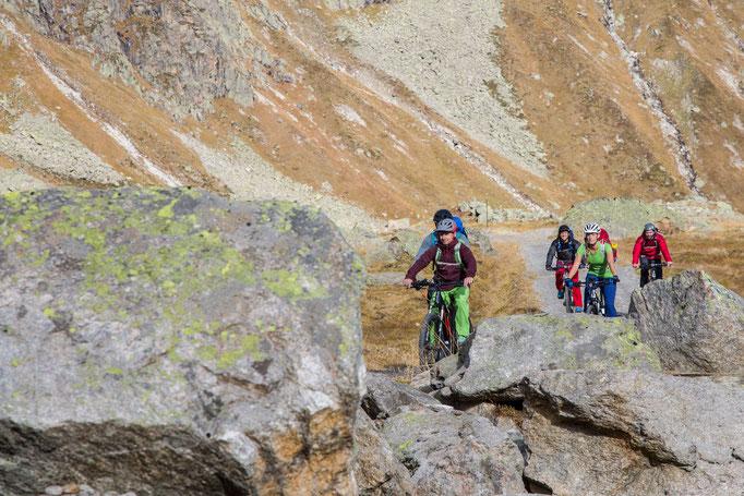 Berge im Licht: Ebike und Klettersteigtour auf die Saarbrücker Hütte und den Kleinlitzner - 3
