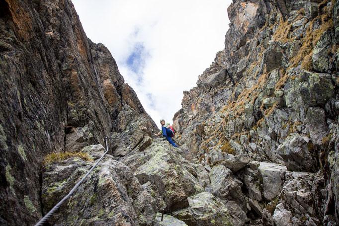 Berge im Licht: Ebike und Klettersteigtour auf die Saarbrücker Hütte und den Kleinlitzner - 17
