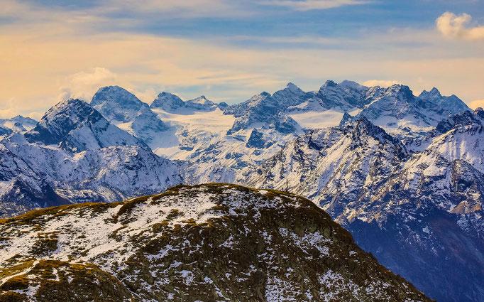 Versailspitze mit Silvretta - Montafon