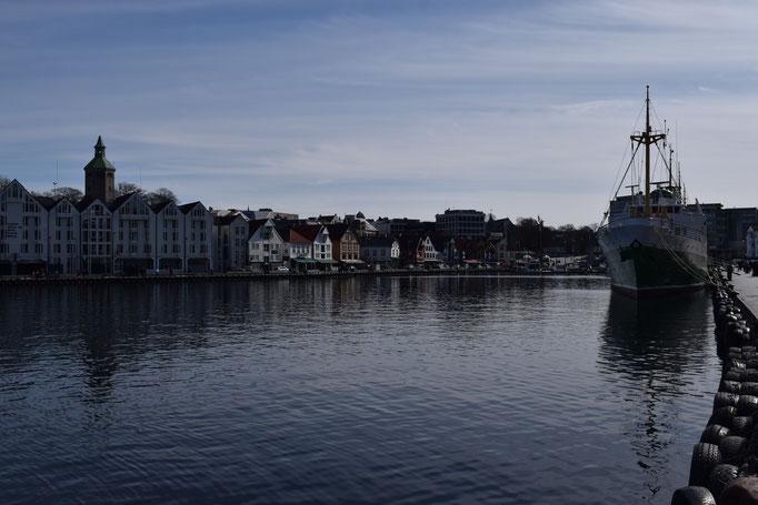 Hafen von Stavanger, Norwegen