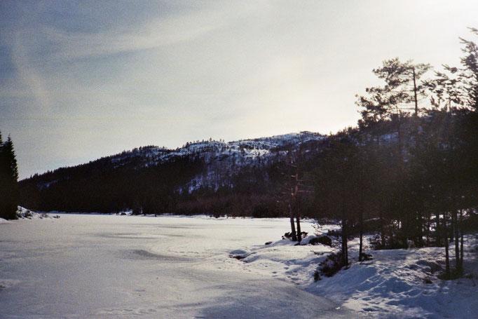 Landschaft in der Nähe von Moi, Norwegen
