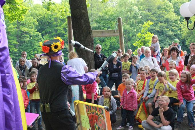 Kinderunterhaltung - Zauberer aus Sachsen - Animateur - Clown