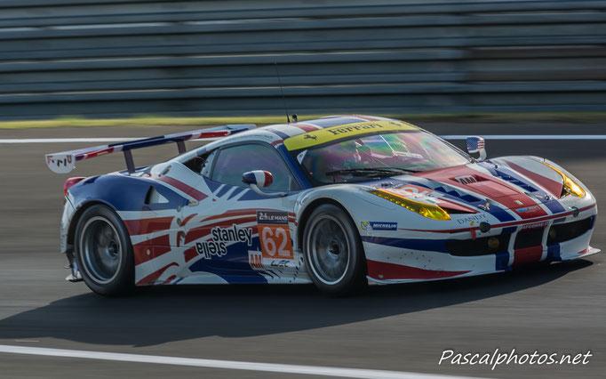 Ferrari 458  24 heures du mans