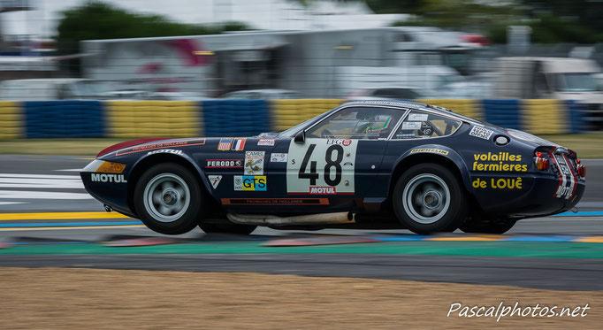 Ferrari Daytona Le Mans Classic