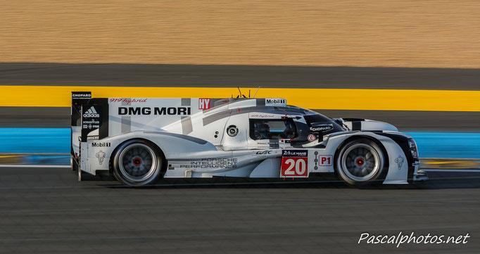 Porsche 919  24 heures du mans