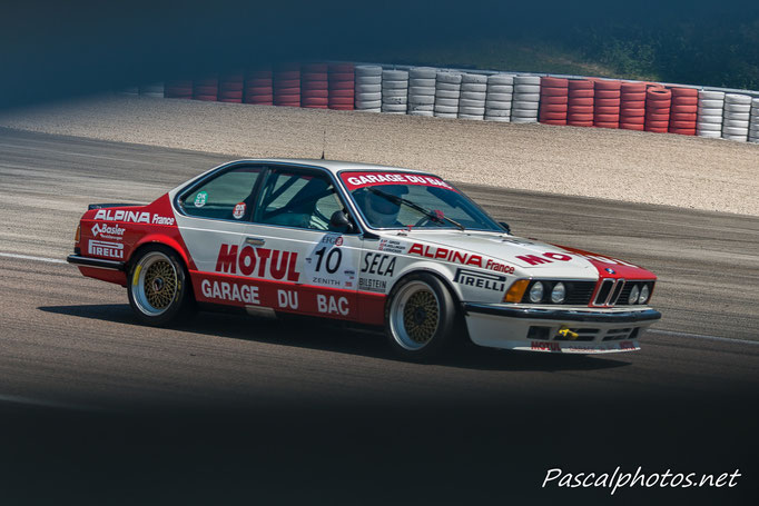 BMW 3 L CSI grand prix age d'or vhc racing