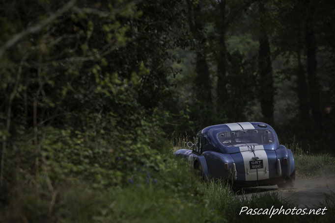 Tour Auto 2017 ; Saint Goueno ; Pluherlin