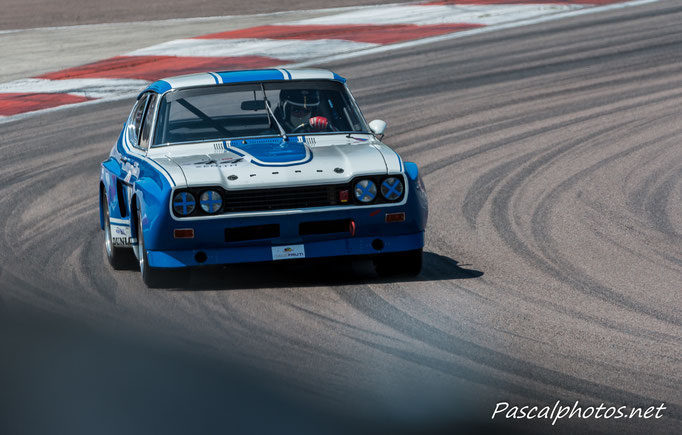 Ford Capri grand prix age d'or vhc racing